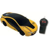 Carrinho Controle Remoto Hot Wheels Dreamer 3 Funções Amarelo - Candide