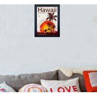 Quadro 65903 Hawai 23X28 Cm Preto