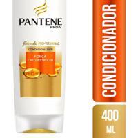 Condicionador Pantene Força E Reconstrução 400Ml