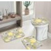 Jogo Tapetes Para Banheiro Basic Element Único