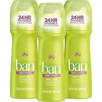 Ban Desodorante Roll-On Satin Breeze - 103Ml 3 Unidades