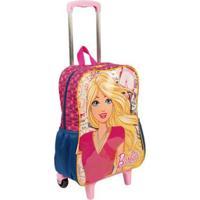Mochilete Grande Barbie 19M Infantil Sestini - Feminino-Rosa