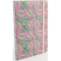 Caderneta Anotações Estampa Folhas Marisa
