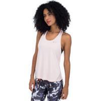 Camiseta Regata Nike Miler Tank Racer - Feminina - Rosa Claro