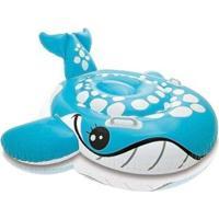 Bote Intex Inflável Baleia Azul - Unissex-Azul