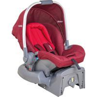 Bebê Conforto Kiddo Caracol Melange Vermelho