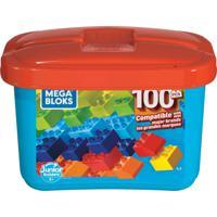 Mega Bloks Junior Builders 100 Peças - Mattel