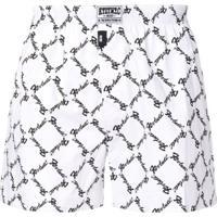 Ktz Logo Print Boxer Shorts - Branco