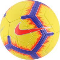 Bola De Futebol De Campo Nike Strike Fa18 - Amarelo/Roxo