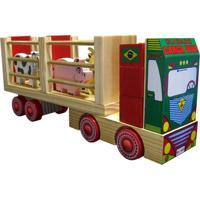 Caminhão Carimbrás Fazendinha Multicolorido