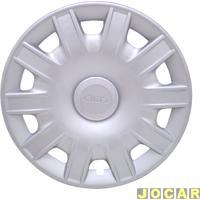 Calota Aro 15 Volkswagen - Grid - Fox/Spacefox - Encaixe - Prata - Cada (Unidade) - 063