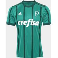Camisa Palmeiras I 17/18 S/Nº Torcedor Adidas Masculina - Masculino