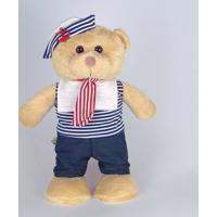 Urso De Pelúcia Marinheiro Em Pé Grande