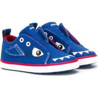 Geox Kids Shark Trainers - Azul