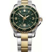 Relógio Victorinox Swiss Army Masculino Aço Prateado E Dourado - 24160