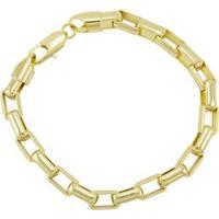 Pulseira Tudo Jóias Cartier Folheada A Ouro 18K - Unissex-Dourado