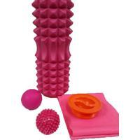 Kit De Massagem E Liberação Miofascial - Foam Roller Wct Fitness 40408004