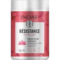 Máscara Inoar Résistance Flor De Lótus De Tratamento 1Kg - Unissex-Incolor