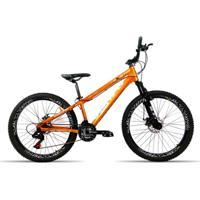 Bicicleta Aro 26 Venzo Fx3 Evo 21 Velocidades Relação Shimano Aro Vmaxx Freio Disco - Unissex