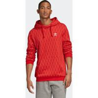 Blusão E Jaqueta Adidas Aop Vermelho