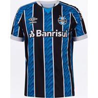 Camisa Grêmio I 20/21 S/N° Jogador Umbro Masculina - Masculino