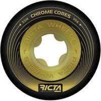 Rodas Ricta Chrome Cores Black Gold 53Mm 99A Preta