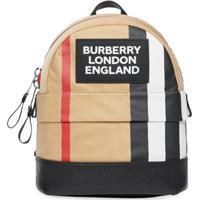 Burberry Kids Mochila Com Logo - Neutro