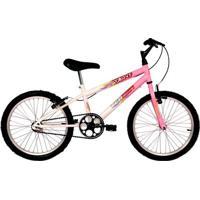 Bicicleta Aro 20 - Brave - Rosa E Branco - Verden Bikes