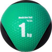 Medicine Ball Pista E Campo De Borracha Inflável Premium 1Kg - Unissex