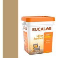 Tinta Acrílica 18 Litros Camurça - Eucalar - Eucatex