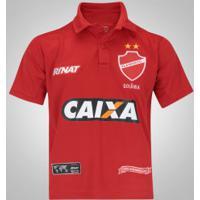 Camisa Do Vila Nova I 2017 Nº 10 Rinat - Infantil - Vermelho