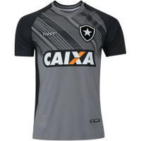 420e638301 ... Camisa De Goleiro Do Botafogo Ii 2018 Topper - Masculina - Cinza