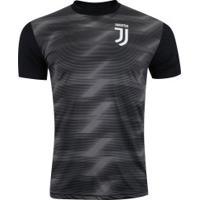 Camiseta Juventus Effect 19 - Masculina - Preto