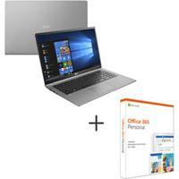 Notebook Lg, Intel Core I7 8550U, 8Gb, 256Gb, Tela De 15,6, Titanio, Gram - 15Z980-G.Bh72P1 + Microsoft Office 365