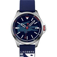 0c36ef12a4e Relógio Lacoste Masculino Borracha Azul - 2010940