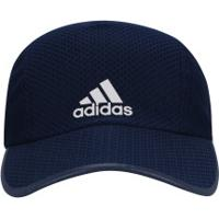 Boné Aba Curva Adidas R96 Run Climacool - Strapback - Adulto - Azul  Esc Branco b9d01516876