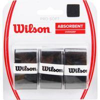 Overgrip Wilson Pro Soft Preto - Unissex