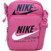 Bolsa Nike Sportswear Heritage Air Smit 2.0 Rosa