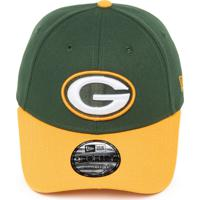 784a6414ad Boné New Era Snapback Green Bay Packers Verde Amarelo