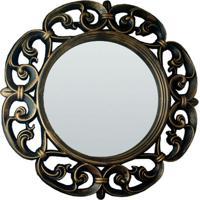 Espelho Venus Ouro Velho