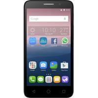 Celular Smartphone Alcatel Pop 3 Dual Chip-Quad Core 1.3 Ghz Câmera 8Mp Android 5.1 Tela 5.0 Preto + Capa Prata