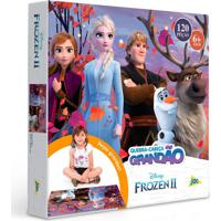 Quebra-Cabeça Frozen 2 Grandão 120 Peças - Toyster - Kanui