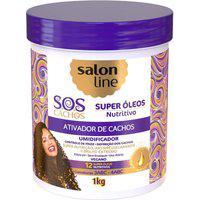 Ativador De Cachos Sos Nutritivo Salon Line 1L