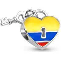 Pingente Life Coração Colombiano