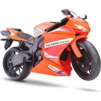 Moto Rodas Livres - Roma Racing Motorcycle - Laranja - Roma Jensen