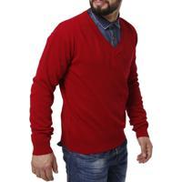 Suéter Masculino - Masculino-Vermelho