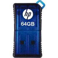 Pendrive Mini Hp Hpfd165W2-64 V165W Usb 2.0 64Gb Azul