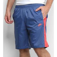 Bermuda Nike Wvn Core Trk Masculina - Masculino-Marinho