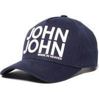Boné John John Original Navy Azul Marinho Feminino Bone Original Nay-Azul Marinho-Un