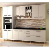 Cozinha Compacta New Vitoria 10 Pt 5 Gv Branco